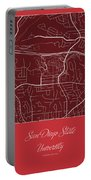 San Diego State Street Map - San Diego State University San Dieg Portable Battery Charger