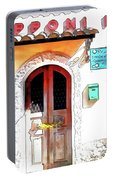 San Felice Circeo Door Of The School Portable Battery Charger