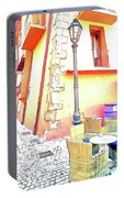 San Felice Circeo Strret Lamp Portable Battery Charger