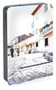 San Felice Circeo Urban Landscape Portable Battery Charger