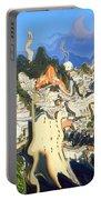 San Francisco 1906 - Modern Art Portable Battery Charger