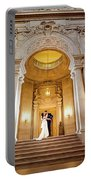 San Francisco City Hall Wedding Portable Battery Charger