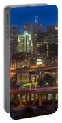 San Francisco From Potrero Hill Portable Battery Charger by Inge Johnsson