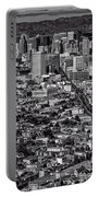 San Francisco From Twin Peaks Portable Battery Charger