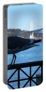 San Francisco - Oakland Bay Bridge - Seagull View Portable Battery Charger