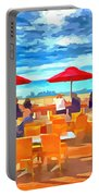 San Francisco Skyline From Alameda  Portable Battery Charger