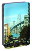 San Francisco Street Portable Battery Charger