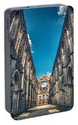 San Galgano Church Ruins In Siena - Tuscany - Italy Portable Battery Charger