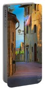 San Gimignano Alley Portable Battery Charger