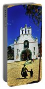 San Juan Chamula Church In Chiapas, Mexico Portable Battery Charger
