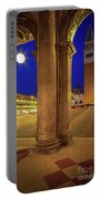 San Marco At Night Portable Battery Charger