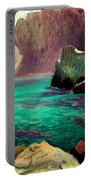 San Vicente Cove Mallorca Portable Battery Charger