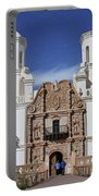 San Xavier Mission Tucson Arizona Portable Battery Charger