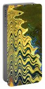 Sand At The Beach Abstract Portable Battery Charger