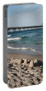 Sand Castles And Piers Portable Battery Charger