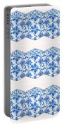 Sand Dollar Delight Pattern 4 Portable Battery Charger by Monique Faella