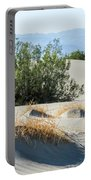 Sand Dunes, Plants, Mountains Portable Battery Charger
