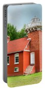Sand Point Lighthouse - Baraga Portable Battery Charger