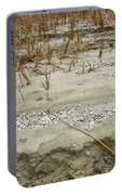 Sand Stone And Reeds Portable Battery Charger