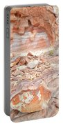 Sandstone Colors In Wash 3 - Valley Of Fire Portable Battery Charger