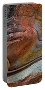 Sandstone Strata - Abstract Portable Battery Charger