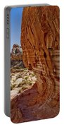 Sandstone Texture Portable Battery Charger