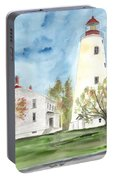 Sandy Hook Lighthouse Portable Battery Charger
