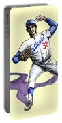 Sandy Koufax Portable Battery Charger