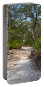 Sandy Path In Hunting Island South Carolina Portable Battery Charger