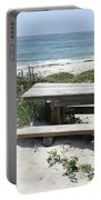 Sandy Picnic Table Portable Battery Charger