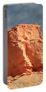 Sandy Rock In Morning Light Portable Battery Charger