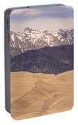 Sangre De Cristo Mountains And The Great Sand Dunes Portable Battery Charger