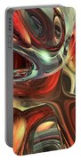 Sanguine Abstract Portable Battery Charger