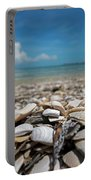 Sanibel Island Sea Shell Fort Myers Florida Broken Shells Portable Battery Charger