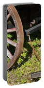 Sanibel Village Wagon Wheels Portable Battery Charger
