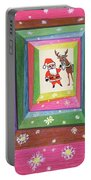 Santa And His Reindeer Portable Battery Charger