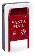 Santa Red Mail Box Portable Battery Charger