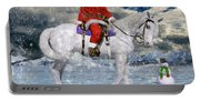 Santa Rides To Town Portable Battery Charger