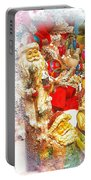 Santa Scene 1 Portable Battery Charger