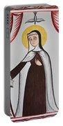 Santa Teresa De Avila - St. Teresa Of Avila - Aotda Portable Battery Charger