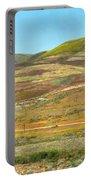 Santa Ynez Mountains Wildflowers Portable Battery Charger
