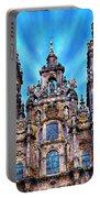 Santiago De Compostela Cathedral Portable Battery Charger