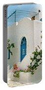 Santorini Villa Portable Battery Charger