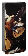 Saraceni Carlo Saint Cecilia And The Angel Portable Battery Charger