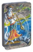 Saraswati By Moon  Portable Battery Charger