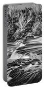 Sauble Falls Autumn Evening 3 - Paint Bw Portable Battery Charger