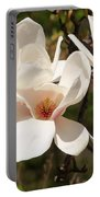 Saucer Magnolia Portable Battery Charger