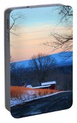 Sauratown View In Winter Portable Battery Charger
