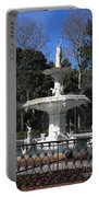 Savannah Square Fountain Portable Battery Charger