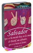 Savior Spanish Portable Battery Charger